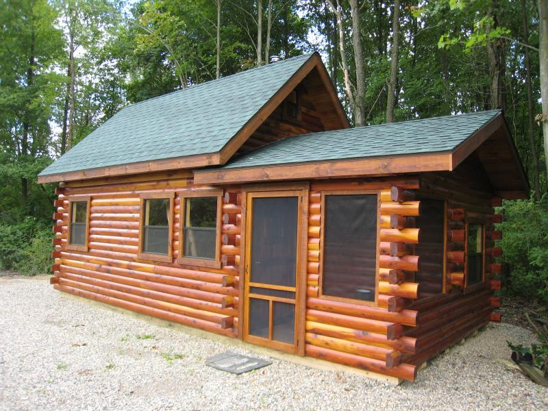 Aromatic Eastern Red Cedar Cottage Split Level unit was designed as a ...