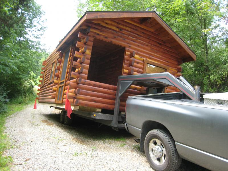 Trophy Amish Cabins, LLC - Delivery
