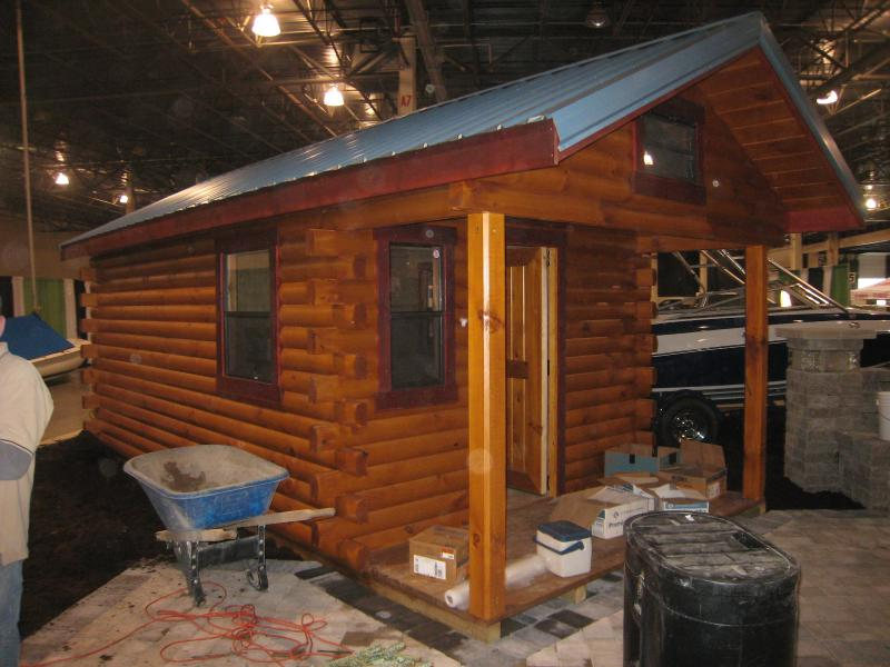 Trophy Amish Cabins Llc 10 X 20 Hunter 200 S F