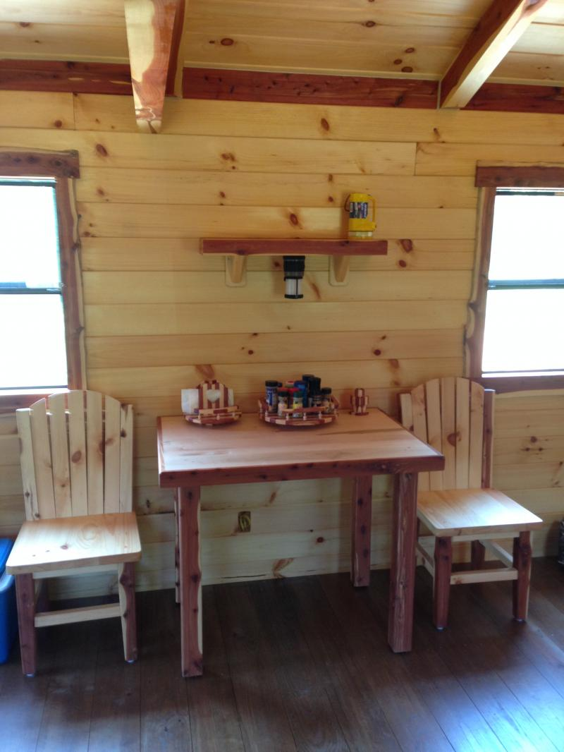 Trophy Amish Cabins Llc 12 X 30 Hunter