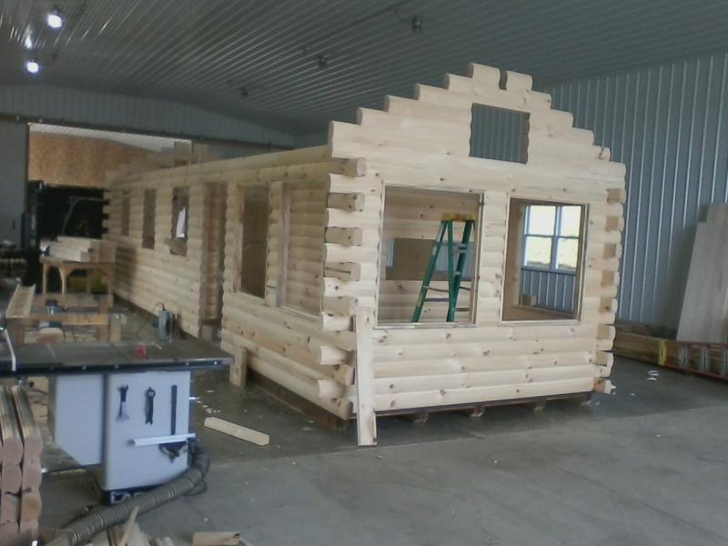 Trophy Amish Cabins Llc Escape Deluxe Display Modelthis