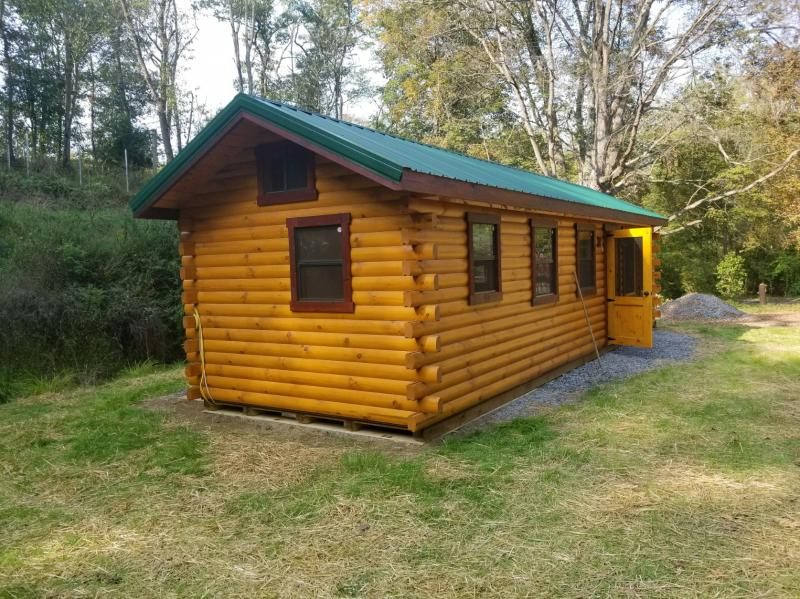 Trophy Amish Cabins, LLC - ESCAPE DELUXE DISPLAY MODELThis New ...