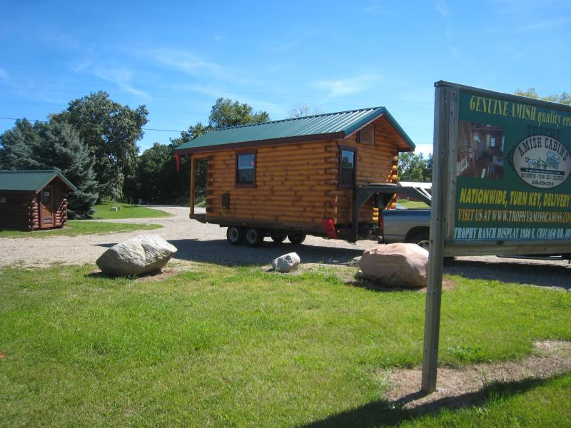 Trophy Amish Cabins, LLC - 10' X 20' Bunkhouse CabinShown in ... on ranch duplex designs, ranch house designs, ranch pool designs, ranch kitchen designs, ranch bungalow designs, ranch office designs,