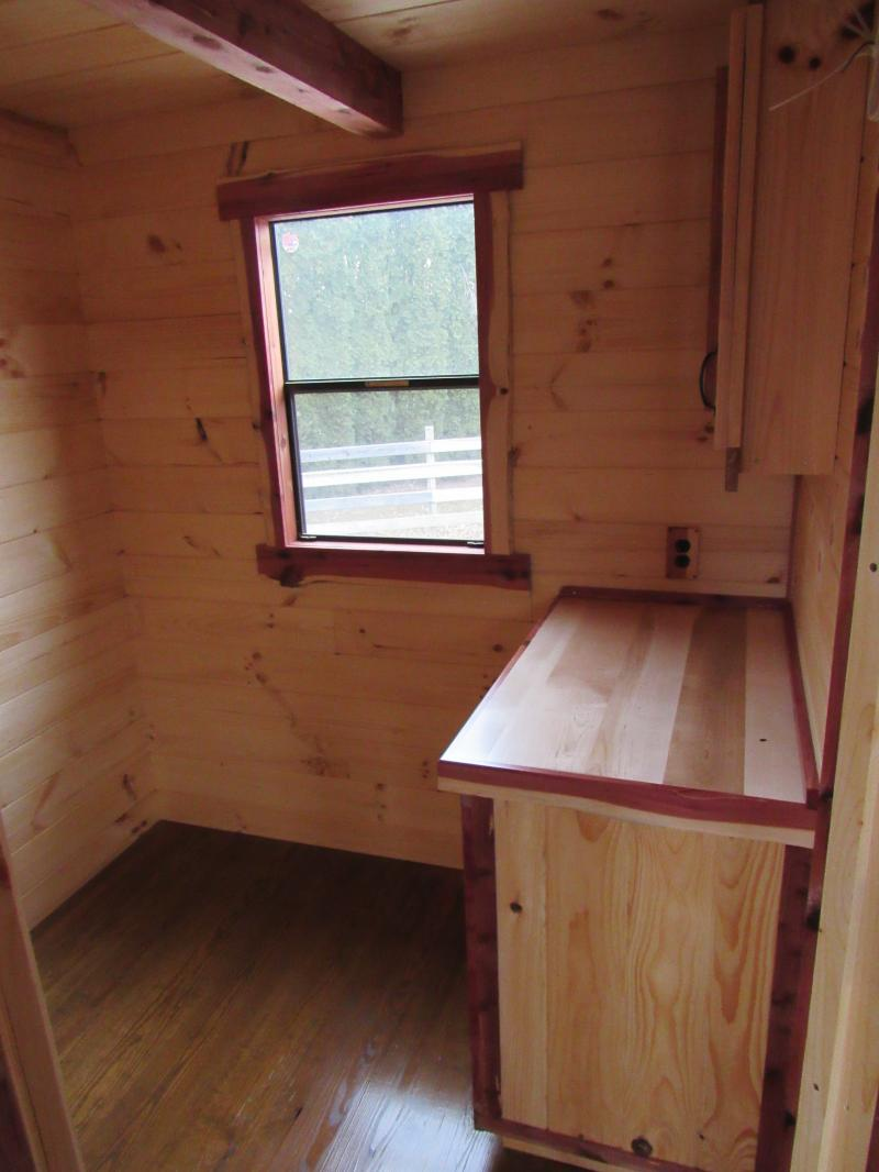 Trophy Amish Cabins, LLC - 12\' X 32\' ESCAPEEscape style cabin is ...