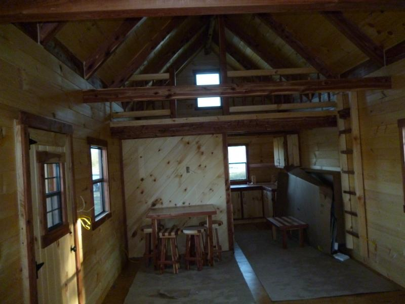 Trophy amish cabins llc 12 39 x 32 39 xtreme lodge 700 s f for 20 x 32 cabin with loft