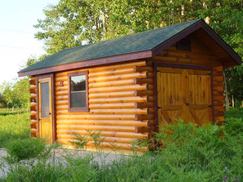 Trophy Amish Cabins Llc Lodge No Porch10 X 16 Lodge